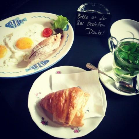 Petit dejeuner a Milchbar Zurich