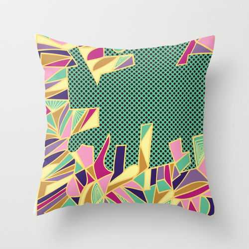 In The Wild pillow