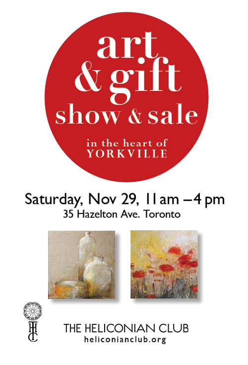 ART Sale Heliconian Club